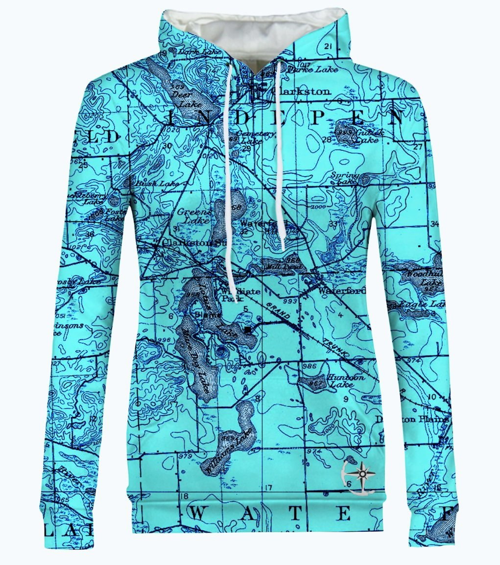 Williams, Maceday, and Deer Lake Area Women's Hoodie