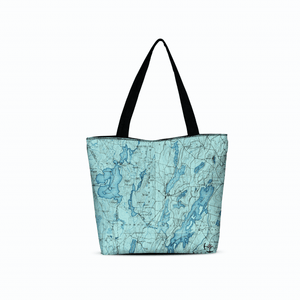 Winthrop Canvas Zip Tote