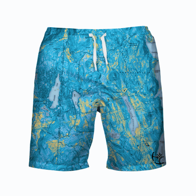 Ball Pond Men's Swimsuit - Blue