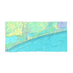 Naples Park-Wiggins Pass Beach Towel