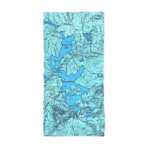 Moosehead Lake Beach Towel