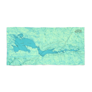 Sebec Lake Beach Towel