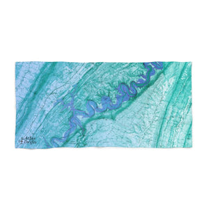 Raystown Lake Beach Towel