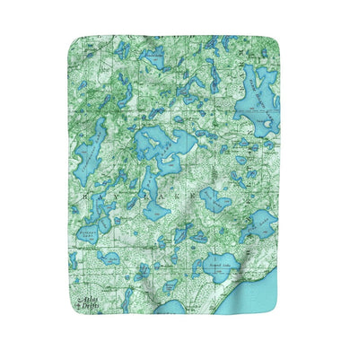 Bay Lake Sherpa Fleece Blanket