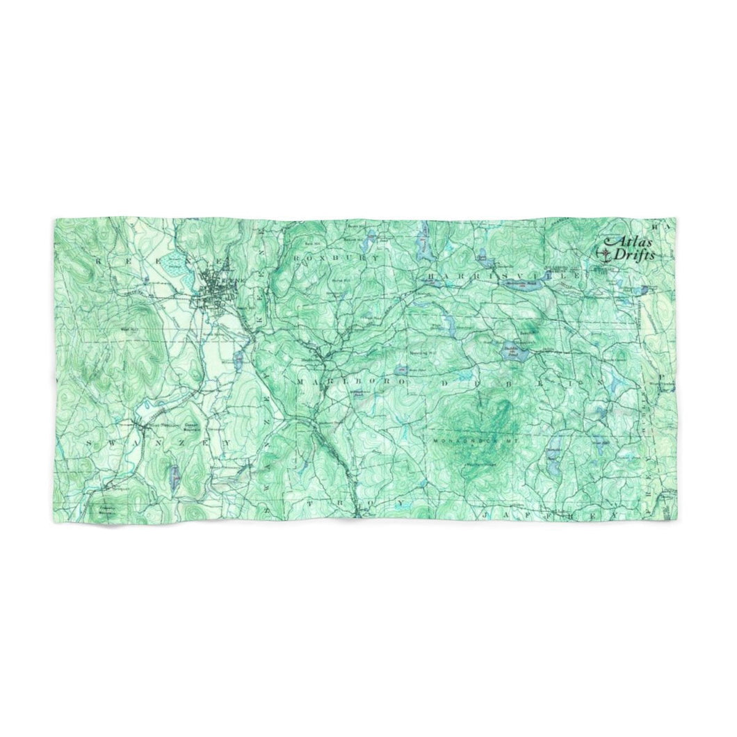 Mount Monadnock Beach Towel