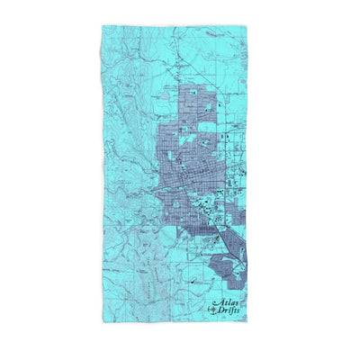 Boulder Colorado Beach Towel