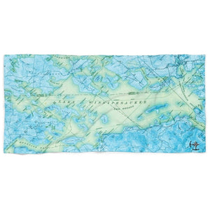 Lake Winnipesaukee Beach Towel