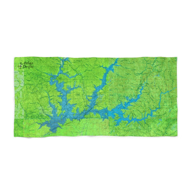 Shasta Lake Beach Towel