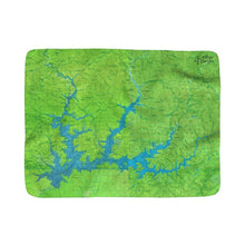 Shasta Lake Sherpa Fleece Blanket