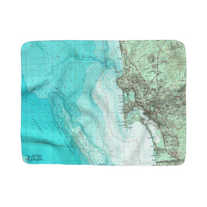 San Diego Sherpa Fleece Blanket