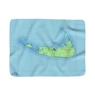 Nantucket Sherpa Fleece Blanket