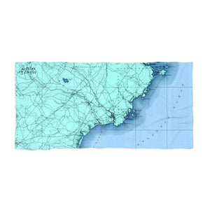 Kennebunkport Beach Towel
