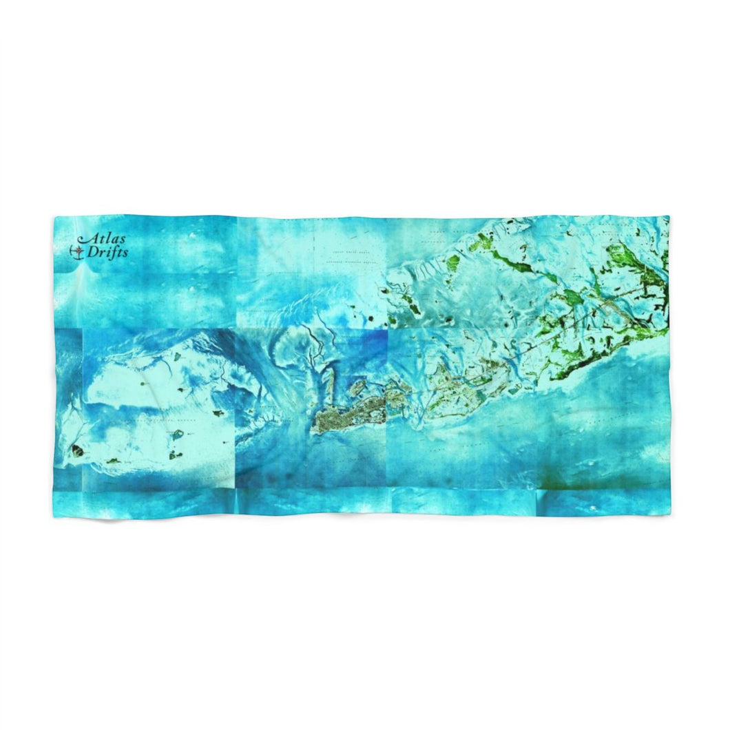 Tropical Florida Keys Beach Towel