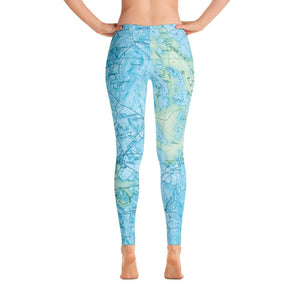 Lake Winnipesaukee  Leggings
