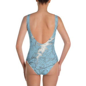Lake Hopatcong One-Piece Swimsuit