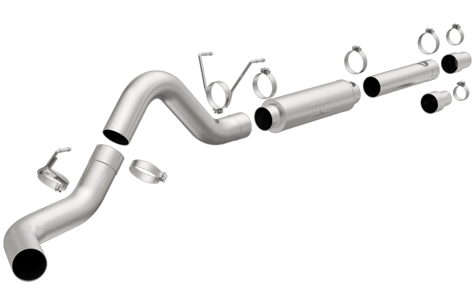"Magnaflow 5"" Pro-Series Cat-Back Exhaust System - Northwest Diesel"