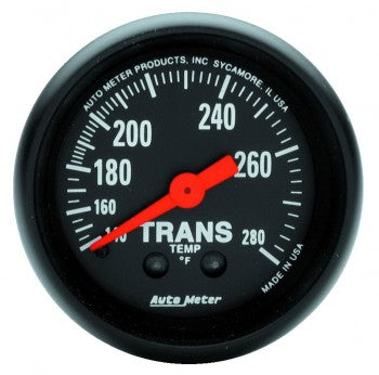 Auto Meter Mechanical Transmission Temperature Gauge 140-280 °F - Northwest Diesel