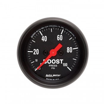 Auto Meter Mechanical Boost Gauge 0-100 PSI, Z-Series - Northwest Diesel