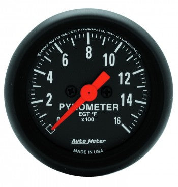 Auto Meter Triple Gauge Kit, Z-Series - Northwest Diesel