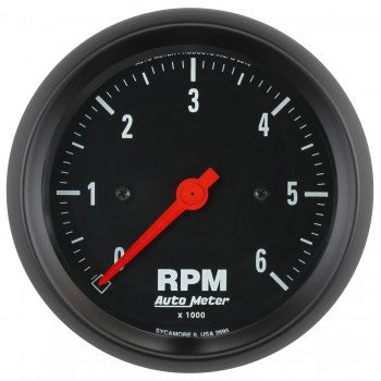 Auto Meter In-Dash Tachometer, 0-6,000 RPM, Z-Series - Northwest Diesel
