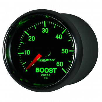 Auto Meter Mechanical Boost Gauge 0-60 PSI, GS - Northwest Diesel