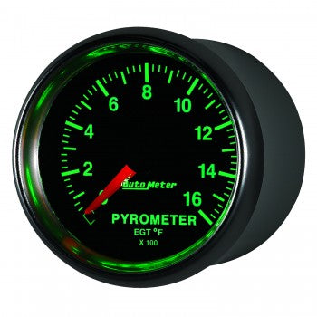 Auto Meter Digital Pyrometer Gauge 0-1600 °F, GS - Northwest Diesel