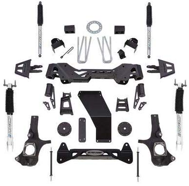 "Pro Comp 6"" Inch Lift Kit with Pro Runner Shocks 2011-2018 Chevy-GMC 3500"