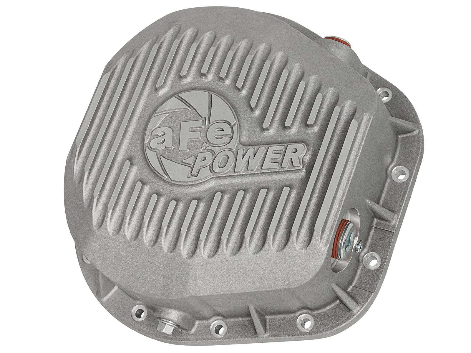 AFE Power Rear Differential Cover, Raw Finish; Street Series - Northwest Diesel