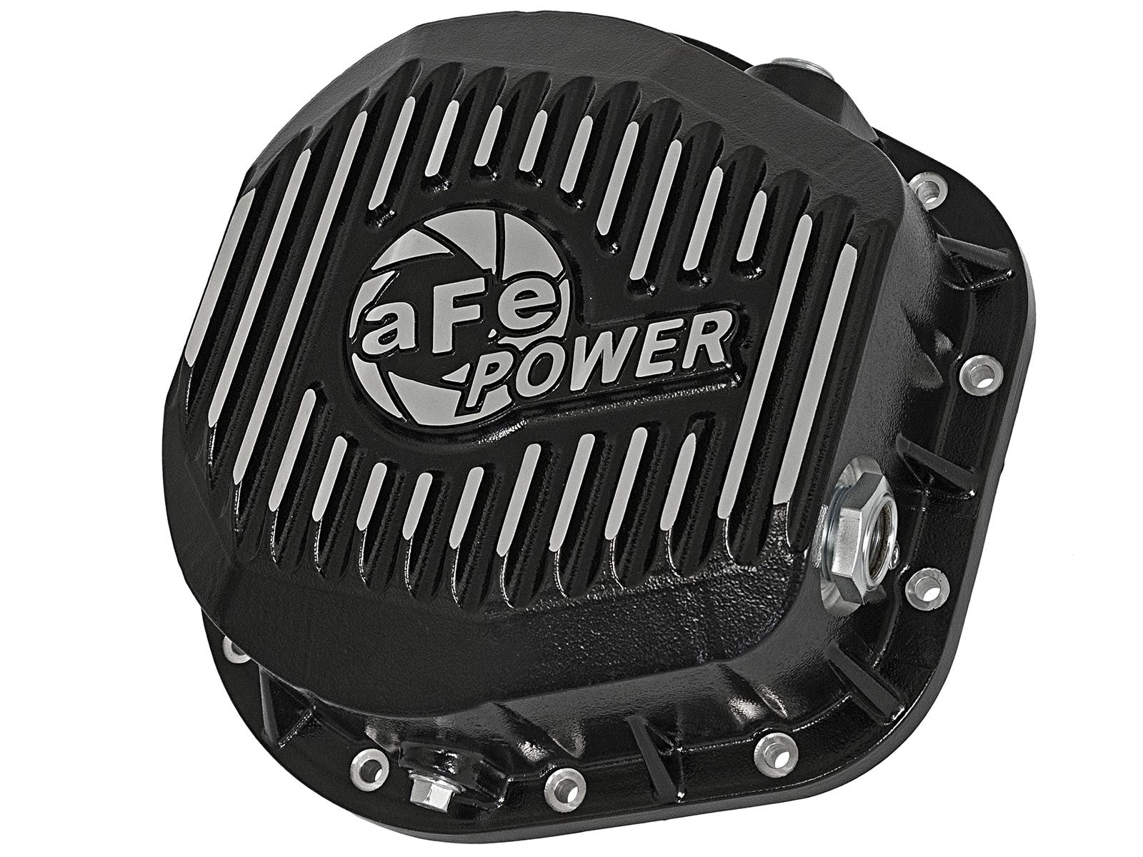 AFE Power Rear Differential Cover, Machined Fins; Pro Series - Northwest Diesel