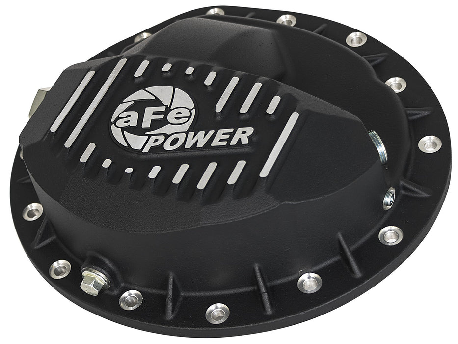 AFE Power Front Differential Cover, Machined Fins; Pro Series - Northwest Diesel