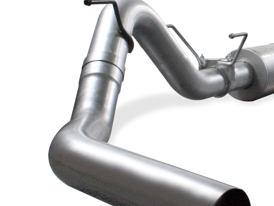 "AFE Power Atlas 4"" Aluminized Turbo Back Exhaust - Northwest Diesel"