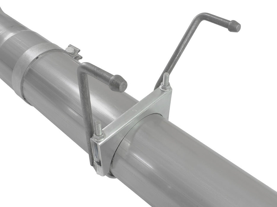 "AFE Power Atlas 5"" Aluminized Turbo Back Exhaust System - Northwest Diesel"