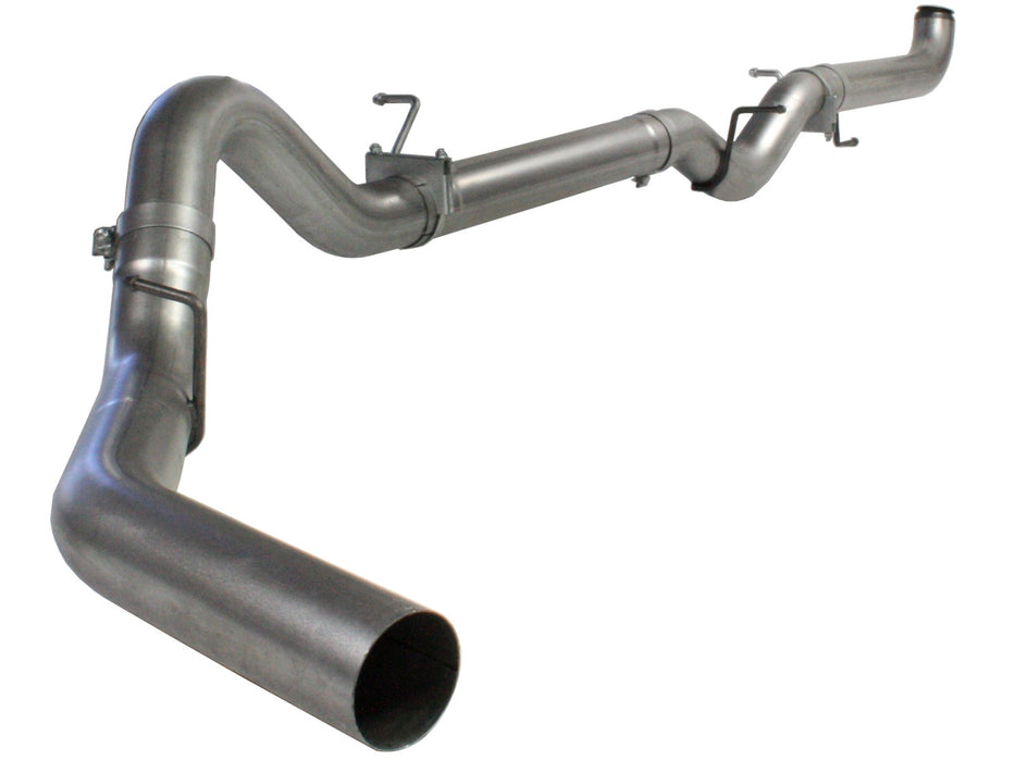 "AFE Power Atlas 4"" Aluminized Downpipe Back Exhaust System - Northwest Diesel"