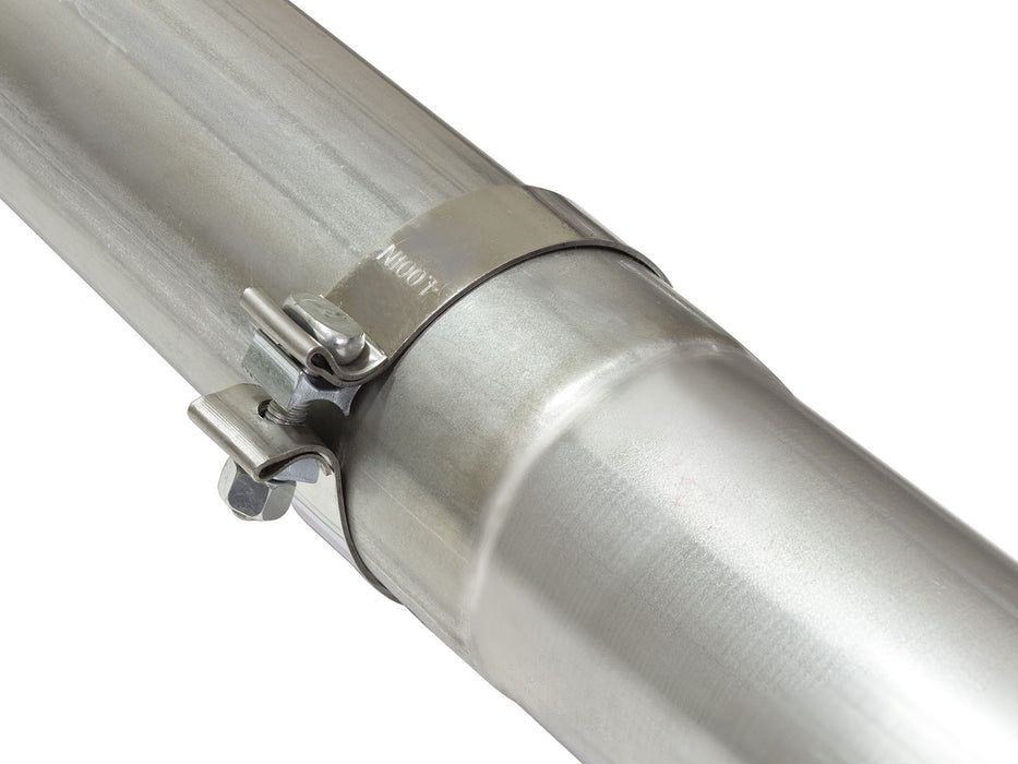 "AFE Power Atlas 4"" Aluminized Steel Race Pipe - Northwest Diesel"