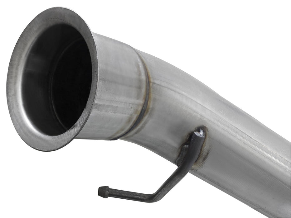"AFE Power Large Bore-HD 4"" Turbo Back Stainless Steel Race Exhaust System - Northwest Diesel"