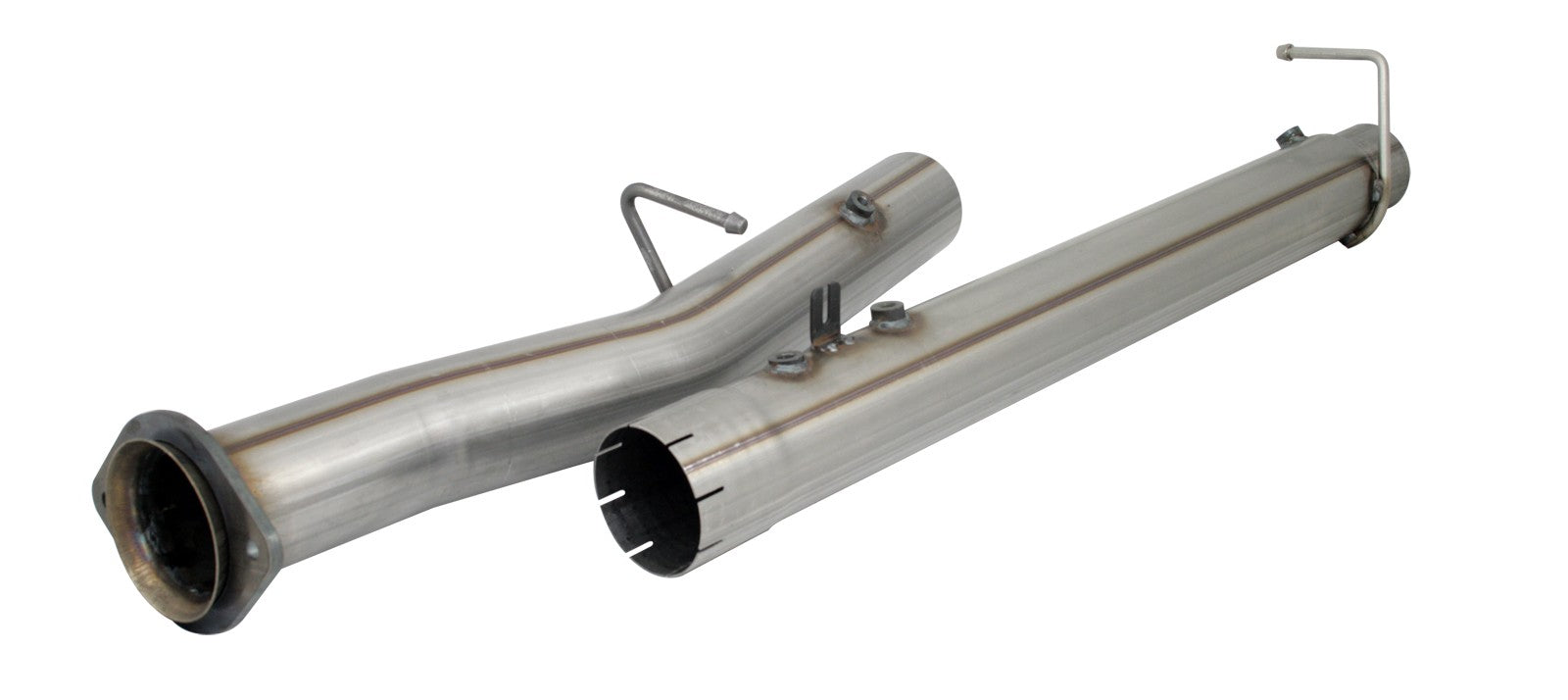 "AFE Power Mach Force-XP 4"" Stainless Steel Race Pipe - Northwest Diesel"