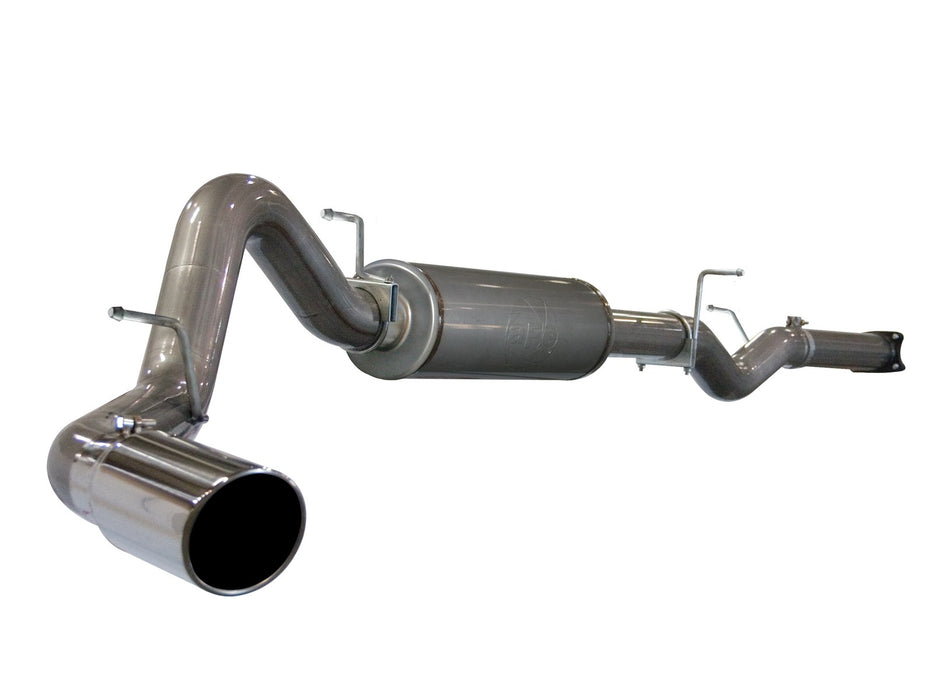 "AFE Power Large Bore-HD 5"" Cat Back Stainless Steel Exhaust System - Northwest Diesel"