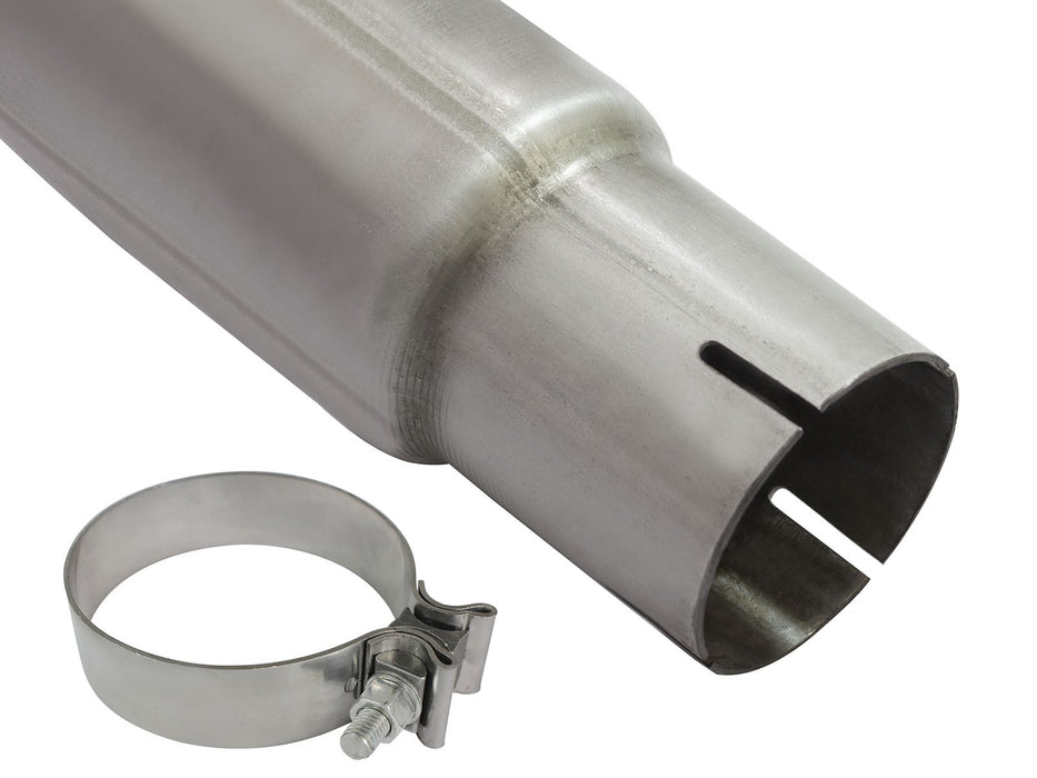 "AFE Power Large Bore-HD 3.5"" DPF Back Stainless Steel Exhaust System - Northwest Diesel"