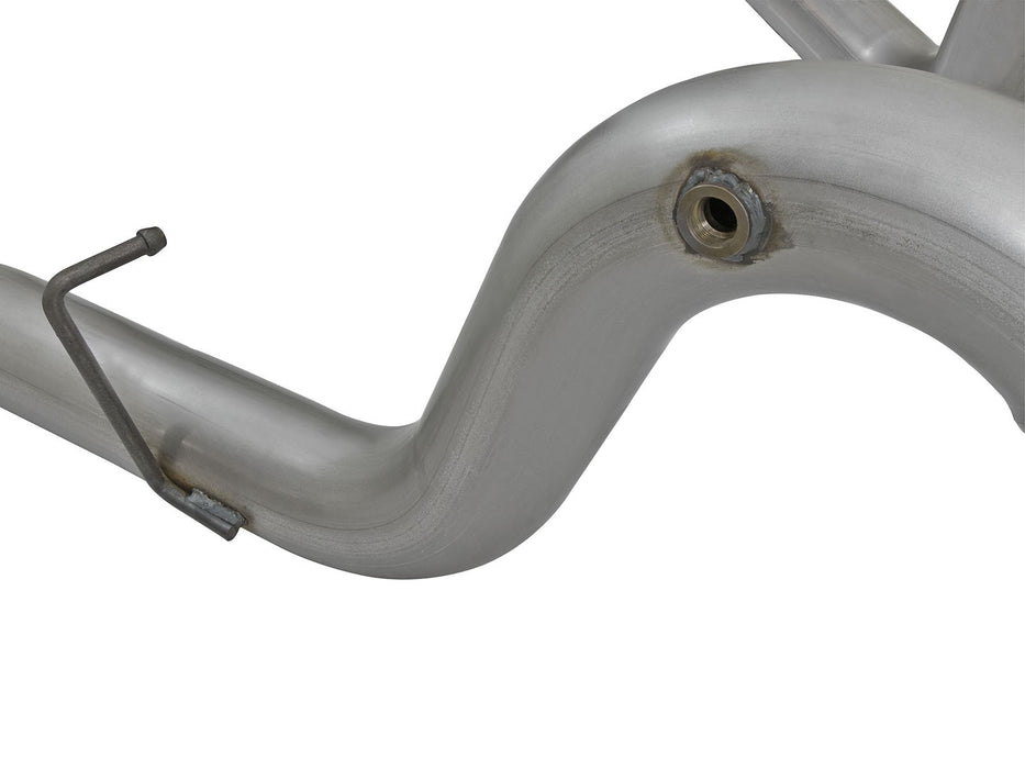 "AFE Power Large Bore-HD 4"" Stainless Steel DPF-Back Exhaust System - Northwest Diesel"