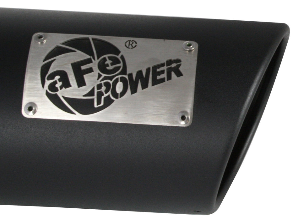 "AFE Power MACH Force-Xp 4"" Black Stainless Steel Exhaust Tip - Northwest Diesel"