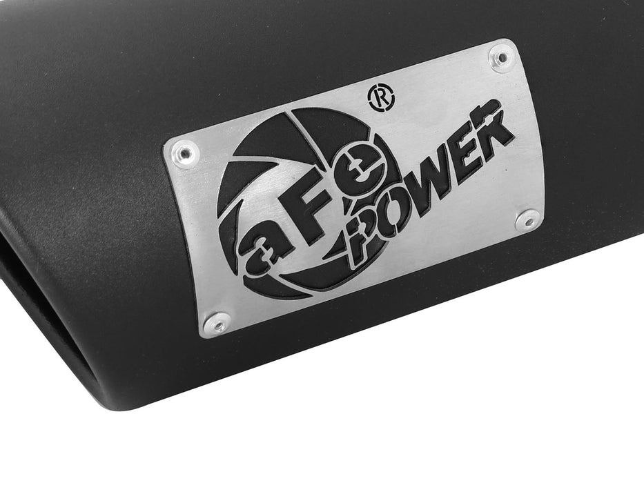 "AFE Power MACH Force-Xp 3-1/2"" Black Stainless Steel Exhaust Tip Set - Northwest Diesel"