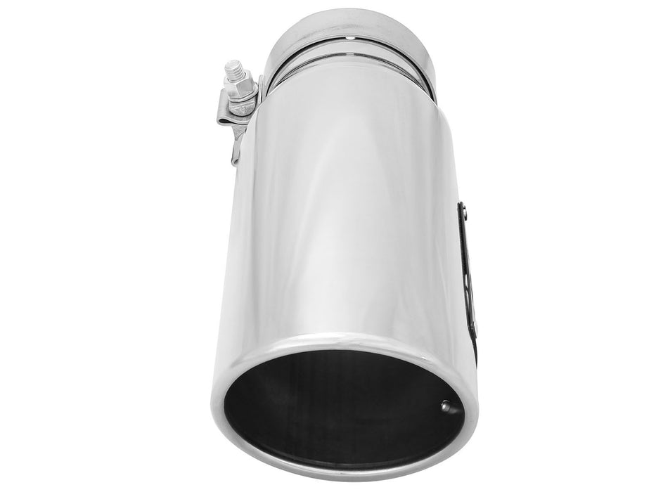 "AFE Power MACH Force-Xp 3-1/2"" Polished Stainless Steel Exhaust Tip Set - Northwest Diesel"