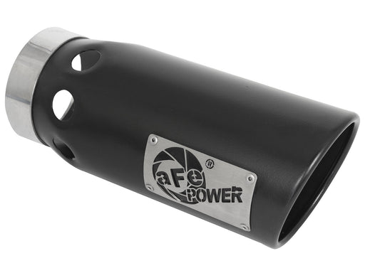 "AFE Power MACH Force-Xp 5"" Black Stainless Steel Intercooled Exhaust Tip - Northwest Diesel"