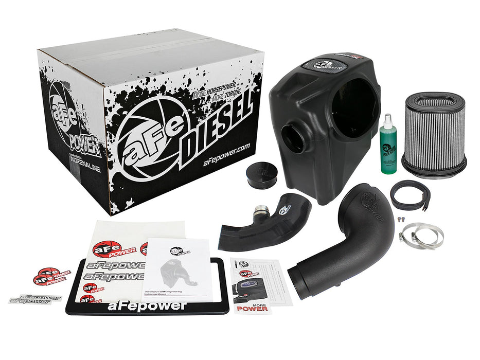 AFE Power Diesel Elite Momentum GT Pro DRY S Cold Air Intake System - Northwest Diesel