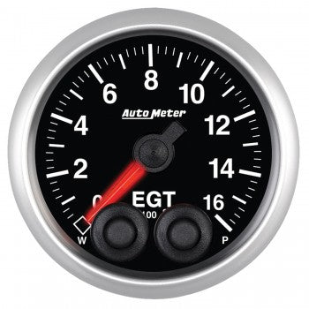 Auto Meter Pryometer Gauge 1-1600  °F, Elite Series - Northwest Diesel