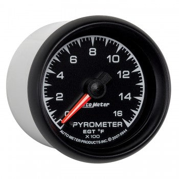 Auto Meter Digital Stepper Motot Pyrometer Gauge 0-1600 °F, Phantom Series - Northwest Diesel