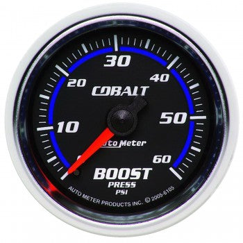Auto Meter Mechanical Boost Gauge 0-60 PSI, Cobalt - Northwest Diesel
