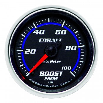 Auto Meter Mechanical Boost Gauge 0-100 PSI, Cobalt - Northwest Diesel