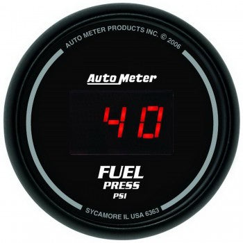 Auto Meter Digital Fuel Pressure Gauge 5-100 PSI, Sport Comp Digital - Northwest Diesel
