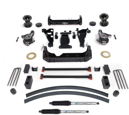"Pro Comp 6"" Lift Kit with Pro-Runner Shocks 2014- 2016 Chevy-GMC 1500"